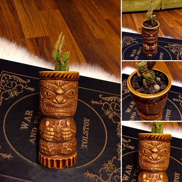 🦋2/$10 3/$15 4/$18 5/$20 Vintage Tiki & Cactus